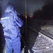 В Лиде бетонным столбом перекрыли железнодорожные пути. Возбуждено уголовное дело