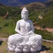 В Бразилии появилась статуя Будды выше статуи Христа на Корковадо