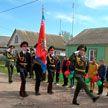 Лицеисты МЧС поздравили ветерана войны
