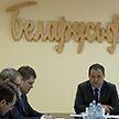 Роман Головченко посетил «Беларусьфильм»
