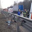 Микроавтобус столкнулся с фурой в России, есть жертвы