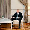 Президент Азербайджана встретился с послом Беларуси