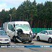 На МКАД автомобиль сбил лося