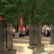 Останки 14 солдат Красной армии перезахоронили в Чаусском районе