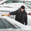 В Минске выпал первый снег (ФОТО)