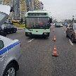 Самосвал врезался в троллейбус неподалёку от станции метро «Петровщина» в Минске
