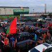 Из Минска в Гродно и обратно: как прошел традиционный субботний автопробег «За единую Беларусь!»