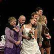 Литовские актёры представили на форуме TEART современный вариант пьесы «Мещанская свадьба»