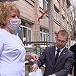 Волонтеры движения «Доброе сердце» передали медикам 11-й городской клинической больницы продукты и средства гигиены