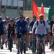 Жители Гомельщины отправились в масштабный патриотический велопробег