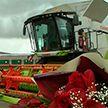 В Гродненской области чествовали механизаторов, намолотивших первую тысячу тонн зерна
