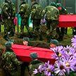 Останки солдат Красной Армии перезахоронили на Витебщине