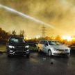 Мужчина битой разбил 5 автомобилей возле здания РОВД в Гродно