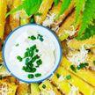 Хрустящие кабачки с чесночным соусом – это просто открытие! Съедаются на раз-два! А вы пробовали?