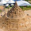 Новый мировой рекорд: самый высокий замок из песка построили в Германии