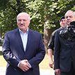 Президент посетил бригаду спецназа внутренних войск в Уручье