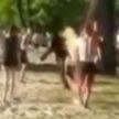 Ради хайпа? 17-летний лицеист на камеру решил поджечь себя и прыгнуть в воду (ВИДЕО)