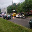 Страшное ДТП в Минске: BMW врезался в стоящий фургон, два человека погибли