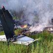 В Украине разбился одномоторный самолет. Два человека погибли