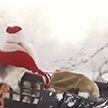 Санта отправился в традиционное путешествие из Лапландии