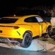 Подросток угнал машину и разбил Lamborghini при попытке скрыться от полиции