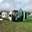 Автобус с туристами опрокинулся на севере Франции. Пострадали более 30 человек