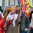 В культурно-историческом комплексе «Золотое кольцо» Витебска представили белорусскую традицию колядования