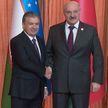 Александр Лукашенко встретился с главой Узбекистана Шавкатом Мирзиёевым
