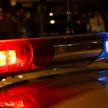 Видеофакт: пьяный водитель на BMW  пытался скрыться от ГАИ в Барановичах, но врезался в светофор