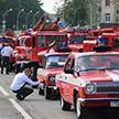 Парад МЧС проходит в Минске