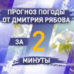 Погода в областных центрах Беларуси с 13 по 19 апреля. Прогноз от Дмитрия Рябова