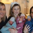 Уникальный случай: «тройняшка» родила тройню