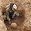 «Подумали, что каска, а это – череп человека». Останки 23-х бойцов Красной армии обнаружили в Могилёвском районе