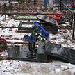 Вандал испортил более 20 надгробий на кладбище в Крупском районе