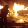 Сотни машин сгорели во время пожара в итальянском порту