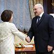 Лукашенко провёл рабочую встречу с послом Великобритании Фионной Гибб