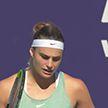Соболенко вышла в финал турнира в Абу-Даби