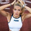 Самая красивая спортсменка в мире похвасталась своей фигурой из спортзала