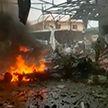 Теракт в Алеппо: заминированный автомобиль взорвался на центральном рынке