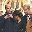 Королевская вражда: принц Уильям недружелюбно отстранился от Меган Маркл, когда она пыталась поговорить с ним