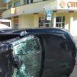 ДТП в Бресте: Renault перевернулся несколько раз