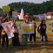 Активисты-правозащитники заблокировали границу Боснии и Герцеговины с Хорватией