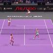 Арина Соболенко в паре с Элис Мертенс вышли в четвертьфинал теннисного турнира в Чехии