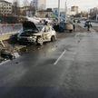 Лобовое столкновение авто в Могилеве: пострадали два человека