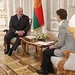 Президент провёл встречу с премьер-министром Сербии