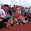 Акцию «Разам з камандай» запустил НОК за 50 дней до Юношеских Олимпийских игр