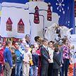Дети и внуки известных белорусских спортсменов посетили традиционную «Олимпийскую ёлку»
