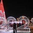На главной ёлке Гомеля зажгли праздничные огни