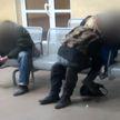 Вокзал для двоих. Парочка предавалась плотским утехам у всех на виду в зале ожидания на железнодорожной станции