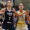 «Цмокі» взяли верх над «Горизонтом» в женском чемпионате Беларуси по баскетболу
